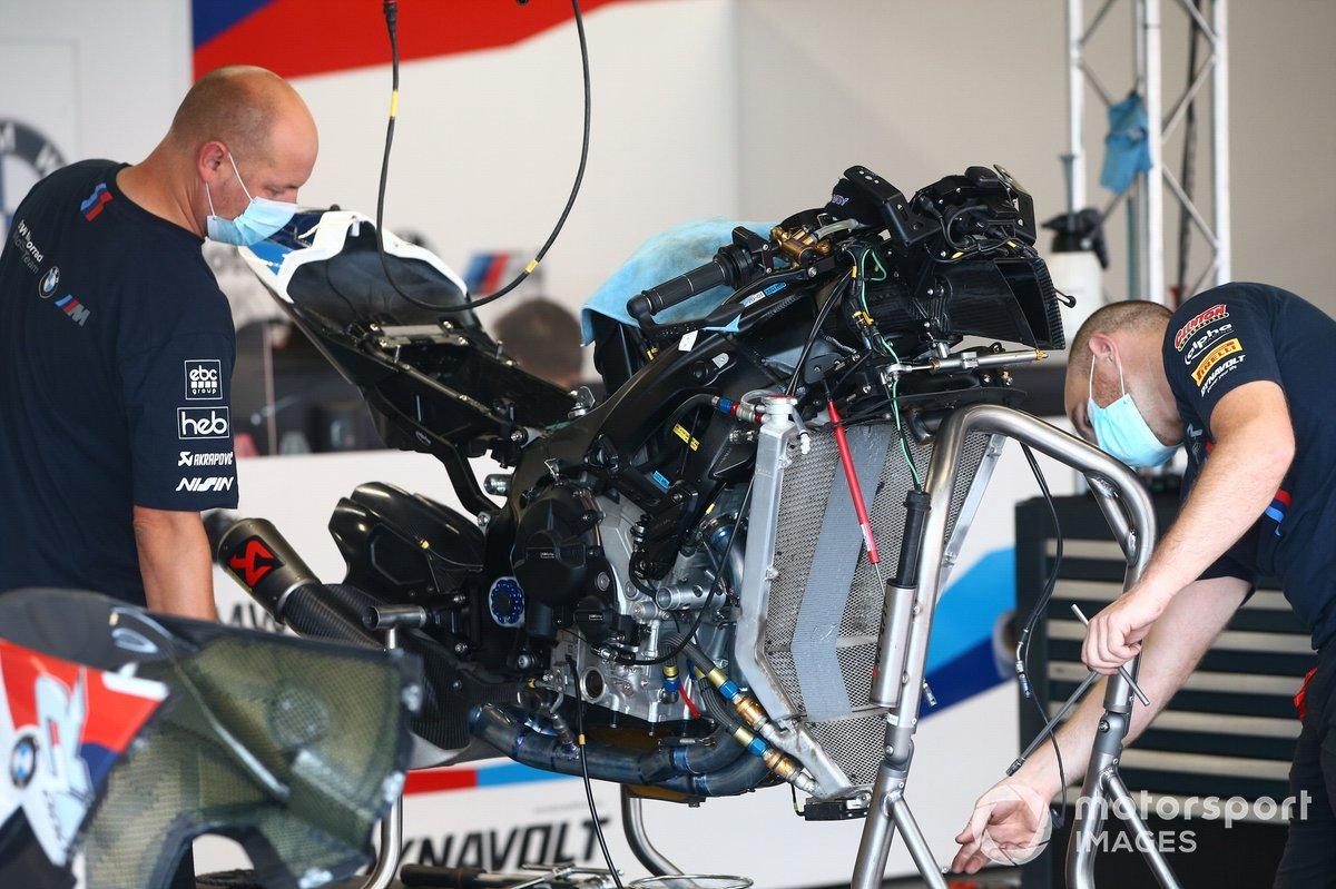 Tom Sykes, BMW Motorrad WorldSBK Team moto