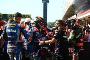 Loris Baz, Ten Kate Racing Yamaha, Michael van Der Mark, Pata Yamaha, Jonathan Rea, Kawasaki Racing Team