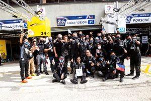 #35 Eurasia Motorsport Ligier JSP217 - Gibson: Roberto Merhi