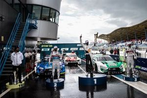 Sheldon van der Linde, BMW Team RBM, Robin Frijns, Audi Sport Team Abt Sportsline, Nico Müller, Audi Sport Team Abt Sportsline