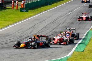 Liam Lawson, Hitech Grand Prix and Frederik Vesti, Prema Racing