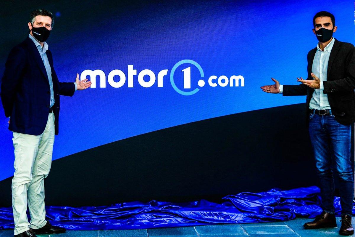 Filippo Salza, Presidente de Automotive Motorsport Network y Alessandro Lago, Director de Motor1.com Italia