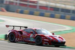 #82 Risi Competizione Ferrari 488 EVO: Olivier Pla, Sebastien Bourdais, Jules Gounon