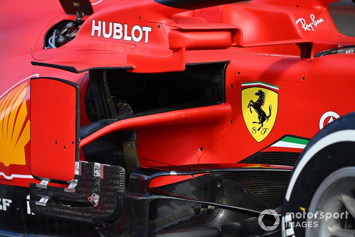 Ferrari SF1000: Seitenkasten