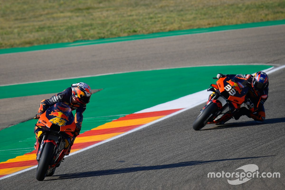 Pol Espargaró, Red Bull KTM Factory Racing, Brad Binder, Red Bull KTM Factory Racing