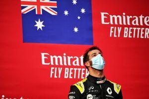 Podium: third place Daniel Ricciardo, Renault F1 Team