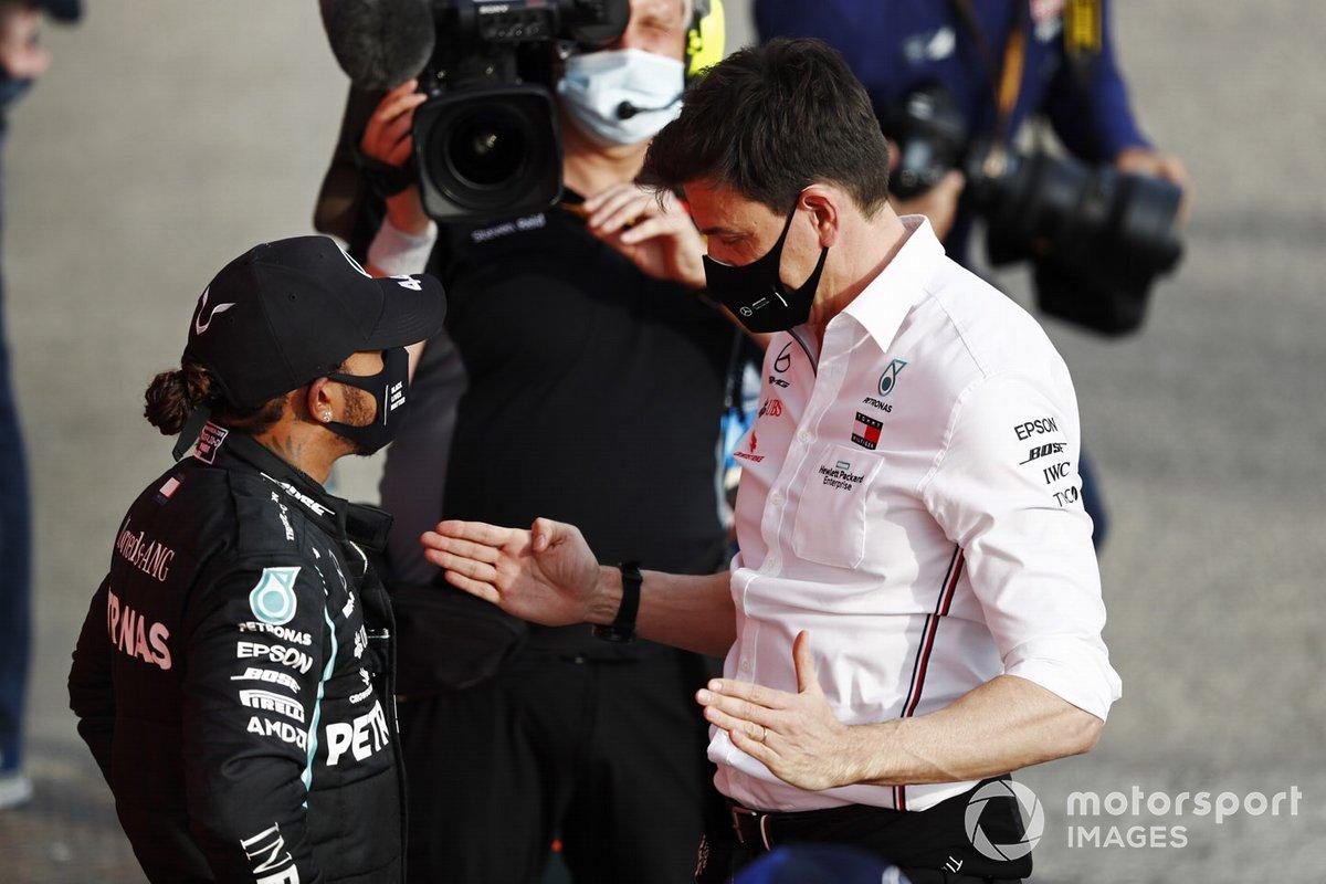 Льюис Хэмилтон и Тото Вольф, Mercedes F1