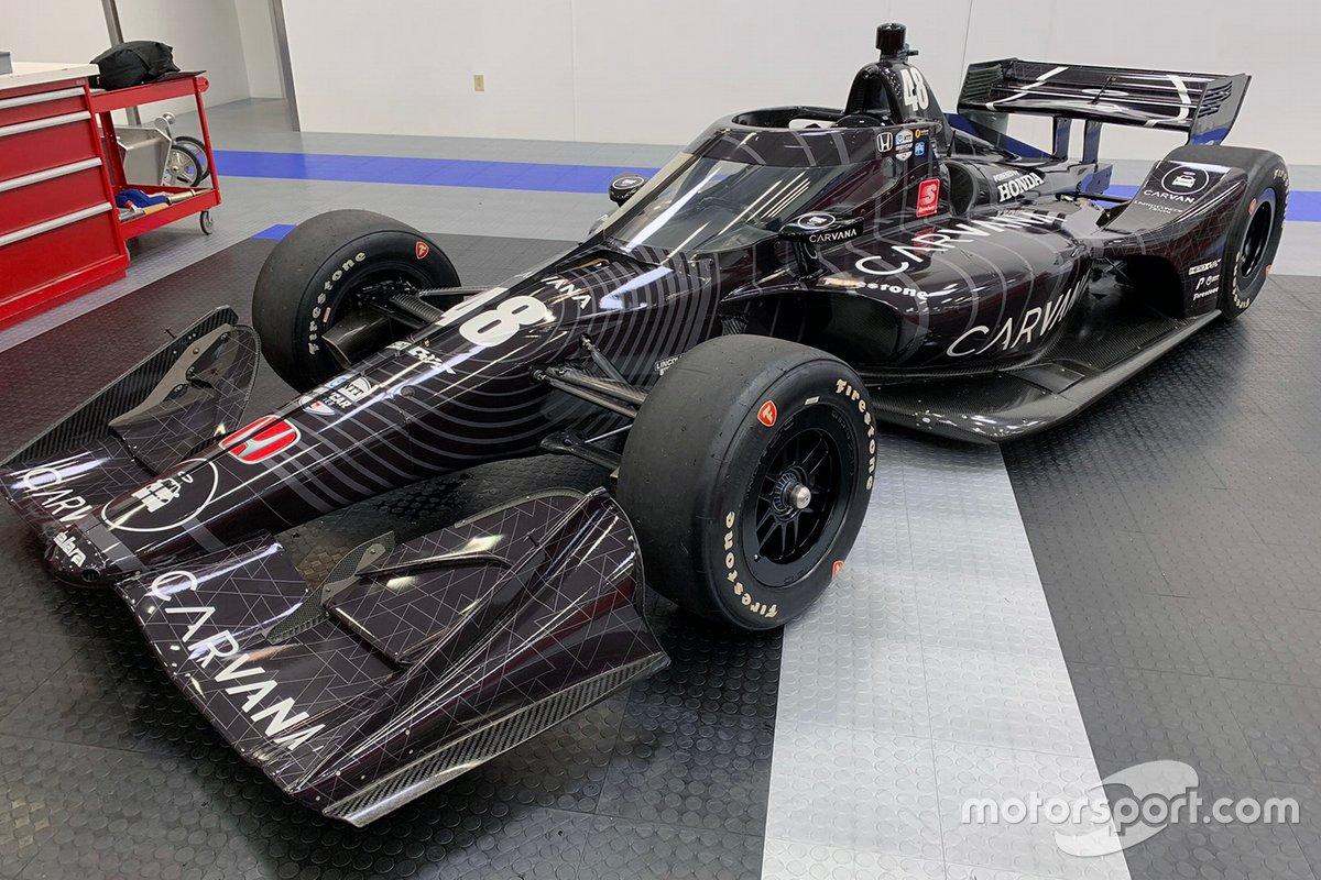 El Honda Indycar de Jimmie Johnson, Chip Ganassi Racing