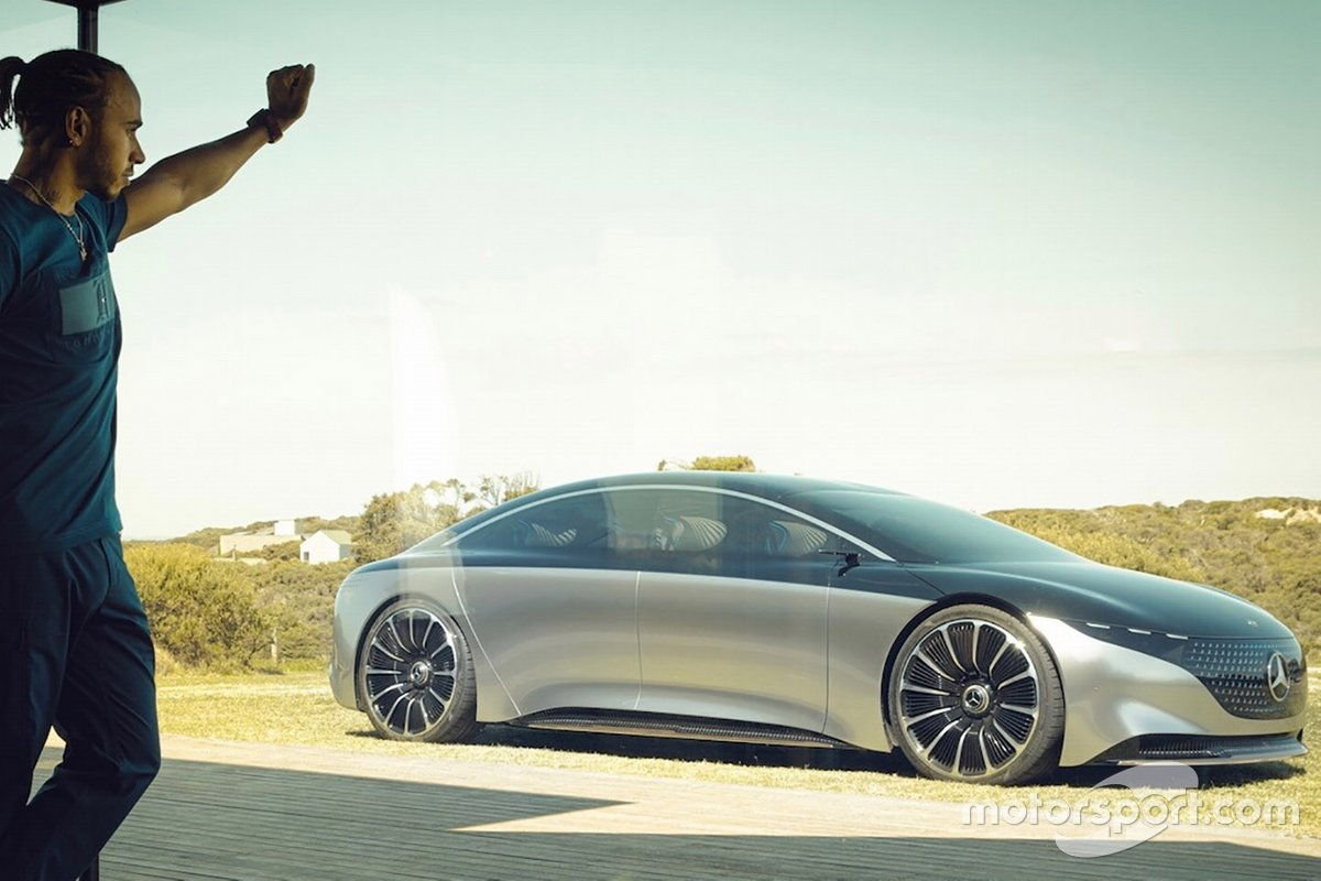 Lewis Hamilton, Mercedes-Benz Vision EQS