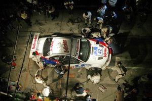 Hans Joachim Stuck, Boris Said, John Nielsen, Marc Duez BMW M3 GTR manque l'arrivée