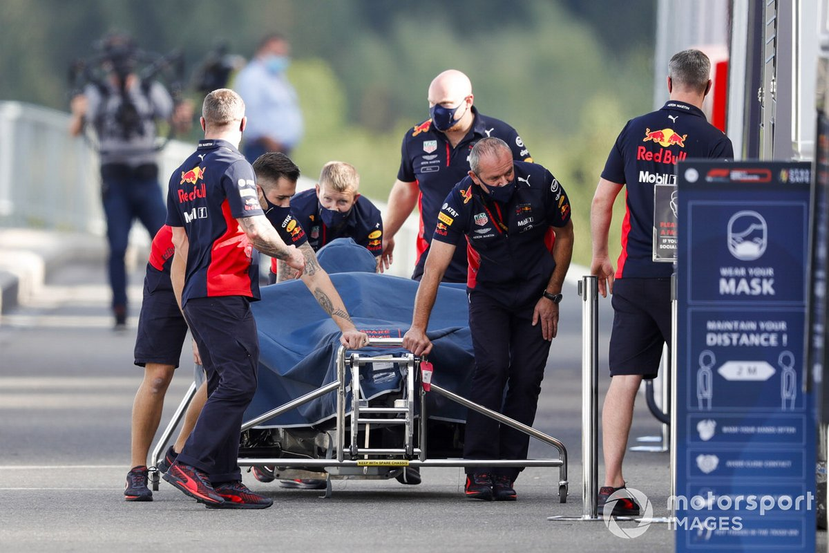 El RB16 de Max Verstappen, Red Bull Racing