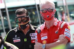 Ruben Xaus, Paulo Paolo Ciabatti, Ducati Corse Sporting Director