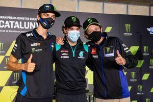Valentino Rossi, Yamaha Factory Racing,Franco Morbidelli, Petronas Yamaha SRT, Luca Marini