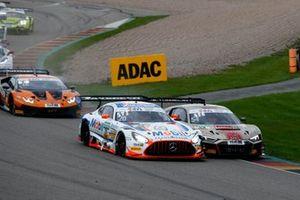 #20 Team Zakspeed Mobil Krankenkasse Racing Mercedes-AMG GT3 Evo: Constantin Schöll, Hendrik Still, #54 Yaco Racing Audi R8 LMS: Simon Reicher, Norbert Siedler