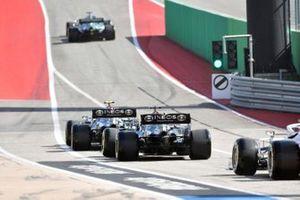 Valtteri Bottas, Mercedes W12, Lewis Hamilton, Mercedes W12