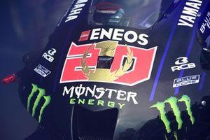 Moto del campeón del mundo Fabio Quartararo, Yamaha Factory Racing