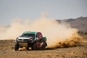 Yazeed Al Rajhi, Michael Orr, Toyota Hilux
