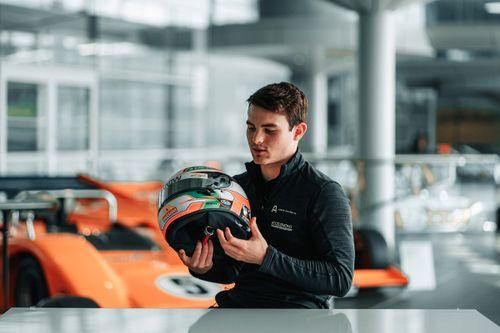 O'Ward McLaren factory visits