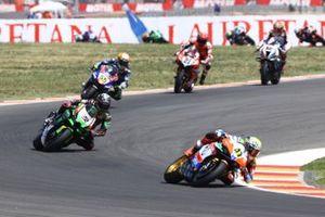 Axel Bassani, Motocorsa Racing, Alex Lowes, Kawasaki Racing Team WorldSBK, Andrea Locatelli, PATA Yamaha WorldSBK Team