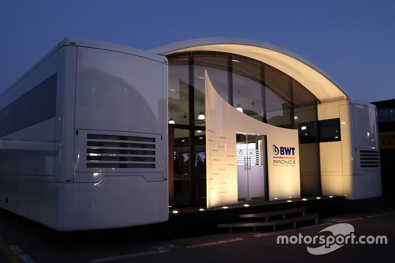 El motorhome de Racing Point