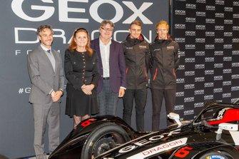 Jamie Reigle, Sarah Ferguson, Mario Moretti Polegato, Nico Mueller, Brendon Hartley, Dragon Racing