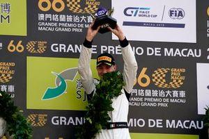 Podium: Race winner #999 Mercedes-AMG Team GruppeM Racing Mercedes AMG GT3: Raffaele Marciello