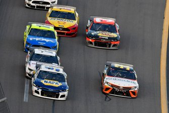 Chase Elliott, Hendrick Motorsports, Chevrolet Camaro NAPA Auto Parts, Christopher Bell, Leavine Family Racing, Toyota Camry Procore