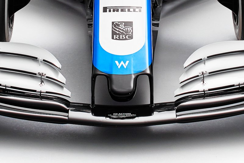 Фрагмент Williams FW43