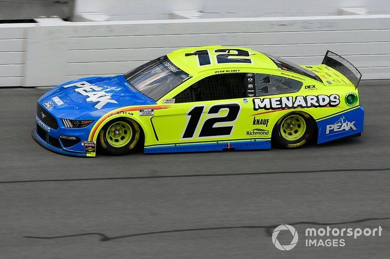 2. Ryan Blaney, Team Penske, Ford Mustang