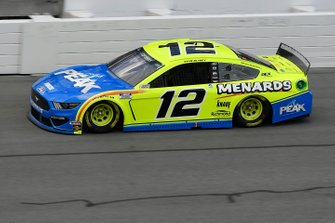 Ryan Blaney, Team Penske, Ford Mustang Menards / Peak