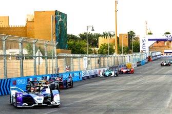 Maximilian Gunther, BMW I Andretti Motorsports, BMW iFE.20, Jean-Eric Vergne, DS Techeetah, DS E-Tense FE20, Robin Frijns, Virgin Racing, Audi e-tron FE06