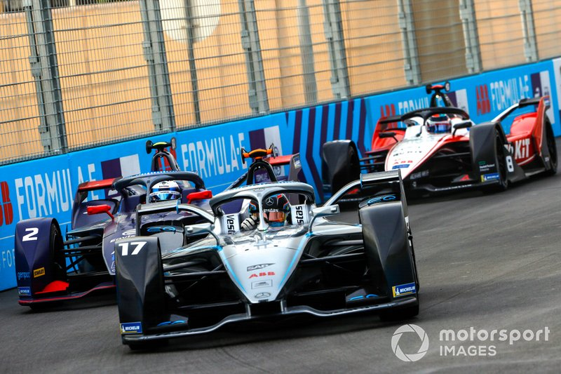 Nyck De Vries, Mercedes Benz EQ, EQ Silver Arrow 01 Sam Bird, Virgin Racing, Audi e-tron FE06, Edoardo Mortara, Venturi, EQ Silver Arrow 01