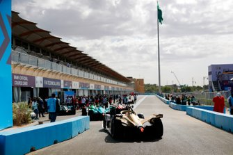 Antonio Felix da Costa, DS Techeetah, DS E-Tense FE20 in de pitstraat