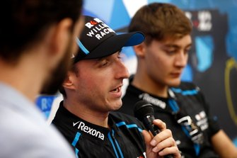 Robert Kubica, Williams Racing, et George Russell, Williams Racing