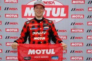 Motul Pole Award winner #9 PFAFF Motorsports Porsche 911 GT3 R, GTD: Zacharie Robichon