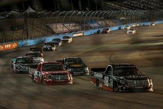 Harrison Burton, Kyle Busch Motorsports, Toyota Tundra Safelite AutoGlass, Tanner Gray, DGR-Crosley, Toyota Tundra Honda Generators