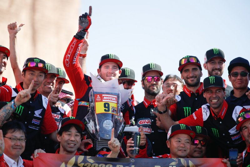 Ganador #9 Monster Energy Honda Team: Ricky Brabec
