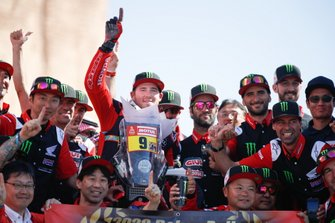 Il vincitore #9 Monster Energy Honda Team: Ricky Brabec