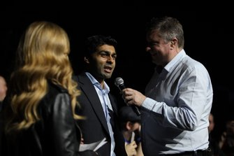 David Croft, Sky TV interviews Karun Chandhok in the Live Action Arena
