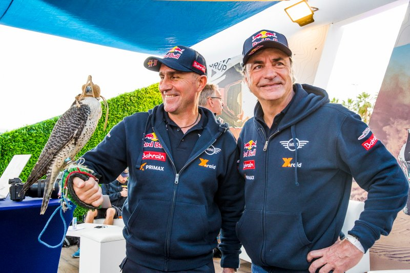 Stephane Peterhansel y Carlos Sainz, JCW X-Raid Mini Team