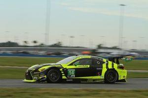 #14 AIM Vasser Sullivan Lexus RC F GT3: Jack Hawksworth, Parker Chase, Michael De Quesada, Kyle Busch