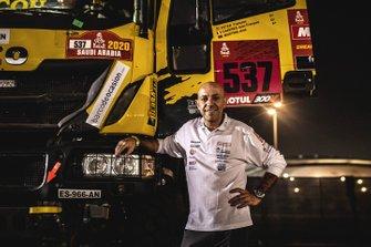 #537 Team Boucou IVECO: Francesc Ester Fernandez