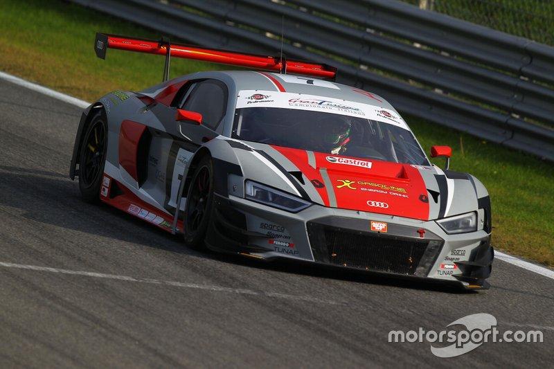 #7 Audi R8 LMS-GT3 PRO, Audi Sport Italia: Fontana-Dromedari