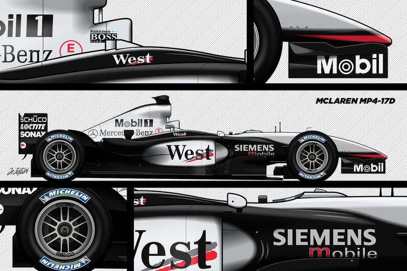 La McLaren MP4-17D, première F1 victorieuse de Räikkönen