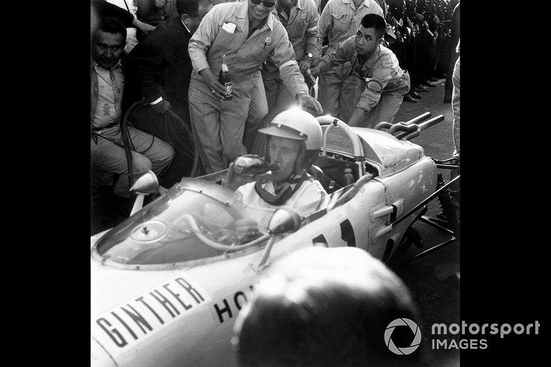 Ричи Гинтер, Honda RA272, Гран При Мексики-1965