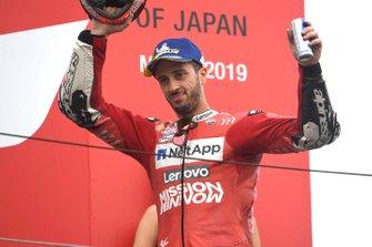 Podio: el tercer clasificado, Andrea Dovizioso, Ducati Team