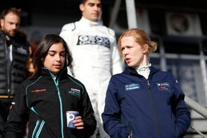 Jamie Chadwick, Rookie Test Driver per Panasonic Jaguar Racing, Alice Powell, Rookie Test Driver per Envision Virgin Racing