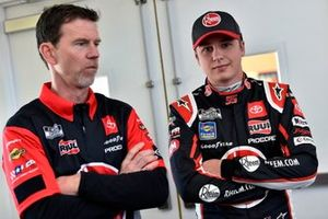 Christopher Bell, Leavine Family Racing, Toyota Camry Rheem-RTP and Jason Ratcliff