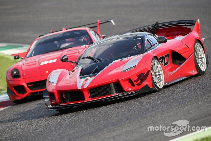Ferrari XX Programmes in pista