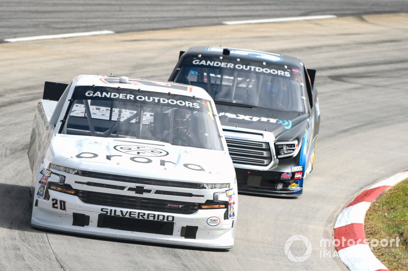Spencer Boyd, Young's Motorsports, Chevrolet Silverado, Christian Eckes, Kyle Busch Motorsports, Toyota Tundra SiriusXM